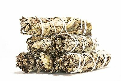 "Yerba Santa Sage Smudge Incense 4"" Bundle (6 pcs) #JC-107"