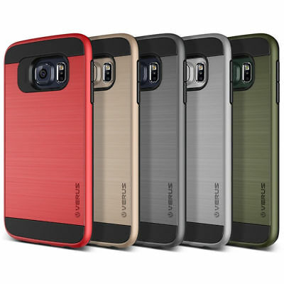 VERUS Style Shock Proof Heavy Duty Dual layer Case Cover Samsung S6-S7-Edge/ S8+