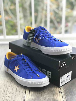 7054f1ea1f00 SNEAKERS MENS CONVERSE One Star Suede Low Top Hyper Royal Blue ...