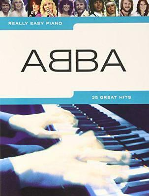 Really Easy Piano Abba Pf by Various, Paperback Book, New, FREE & Fast Delivery!