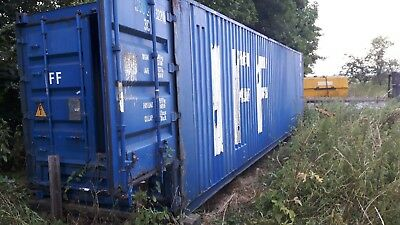 40ft shipping container high cube