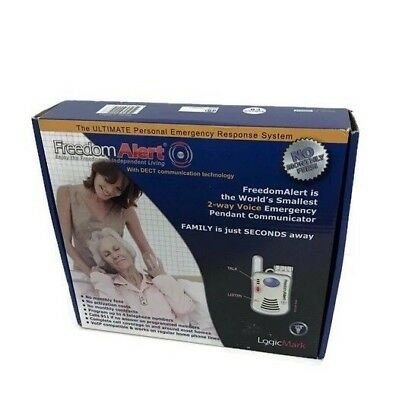 Freedom Alert Model 35911 Complete System LogicMark Personal Emergency Response