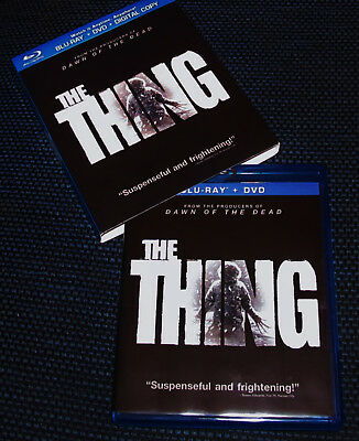 THE THING  (Blu-ray and DVD) 2011