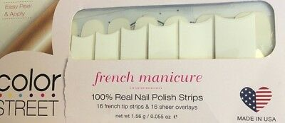 """Lovely Color Street """"Meet Me in Paris"""" French Manicure Nail Polish Strips"""