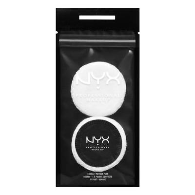 NYX Compact Powder Puff Pack of 2