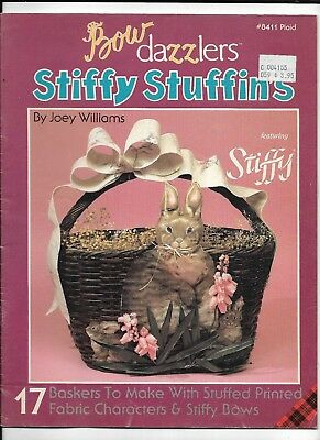 "1989- Bow Dazzlers #8411 Plaid ""Stiffy Stuffin's"" by Joey Williams- 17 baskets"