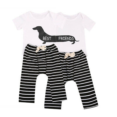 Boy Girl Twin Outfits 1st Birthday Mickey And Minnie 3500 Picclick