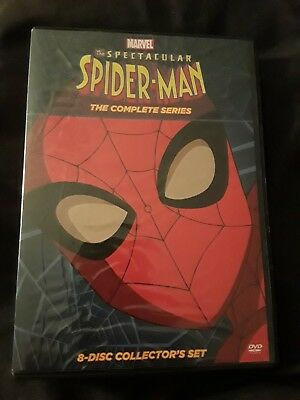 The Spectacular Spider-Man: The Complete Series (DVD) EXCELLENT, AUTHENTIC