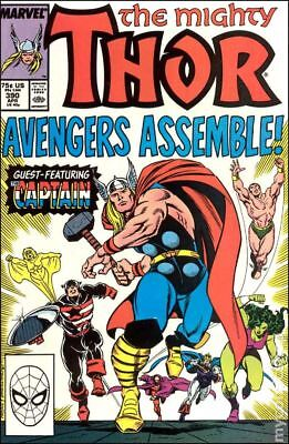 Thor (1st Series Journey Into Mystery) #390 1988 VG Stock Image Low Grade