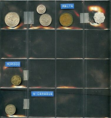 Worldwide Lot Of 101  Foreign Circulated Coins You Do The Grading  Have Fun