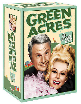 Green Acres: The Complete Series Season 1 2 3 4 5 6 (DVD 2017 24 Disc Box Set)