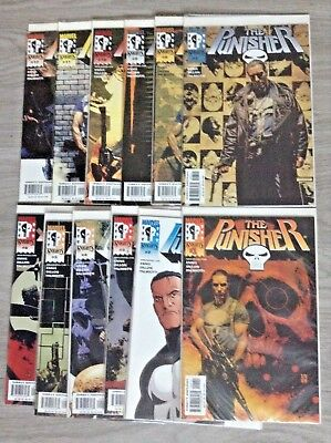 Punisher #1-12. Full Run. 2000. Garth Ennis, Steve Dillon. Daredevil.