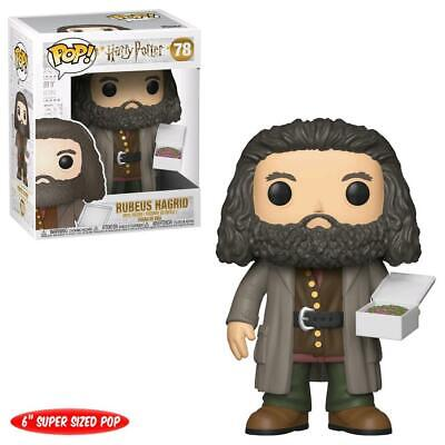 "Harry Potter - Hagrid With Cake 6"" Pop! Vinyl - FunKo Free Shipping!"