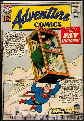 DC Comics ADVENTURE Comics #298 SUPERBOY Tales Of Bizarro World VG 4.0