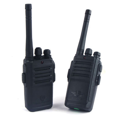 2 Pack Black Walkie Talkies For Kids Rechargeable Two Way Radio with Batteries