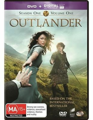 W4 BRAND NEW SEALED Outlander : Season 1 : Part 1 (DVD, 2015, 3-Disc Set)