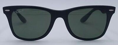 Rayban RB4195 601-S/9A Lite Force Black 52×20-150 Polarized Sunglasses #1085