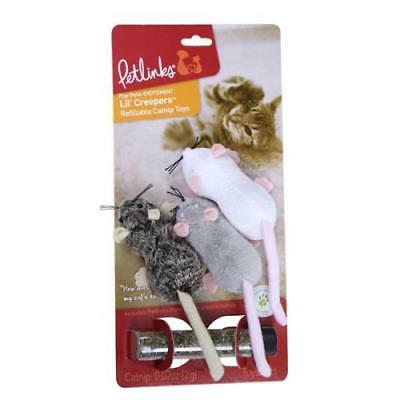 Petlinks Lil Creepers Refillable Cat Toy - 3 Pack