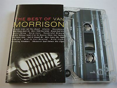 Van Morrison - The Best Of  Cassette Tape