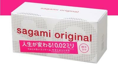 20PC/BOX  Condom 002 Ultra-thin 0.02MM sagami original Non Latex Japan Condom