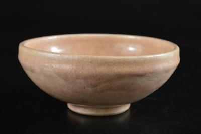G4003: Japanese Kiyomizu-ware White glaze TEA BOWL Green tea tool Tea Ceremony