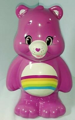 "2015 ""RAINBOW"" Care Bear color (Pink) Coin-Bank(Great Condition!!!)"