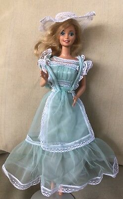 Barbie GUAG Summers Dress In Ruffles & Mint #9151 1976 Outfit Only. No Doll.