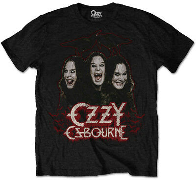 Ozzy Osbourne 'Crows & Bars' T-Shirt - NEW & OFFICIAL