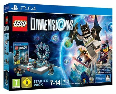 LEGO Dimensions - Starter Pack - [PlayStation 4] (Lagerspuren an Verpackung!)