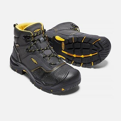 New Mens Keen Utility Logandale Steel Toe Work Boot Hiker Size 9.5 Boots