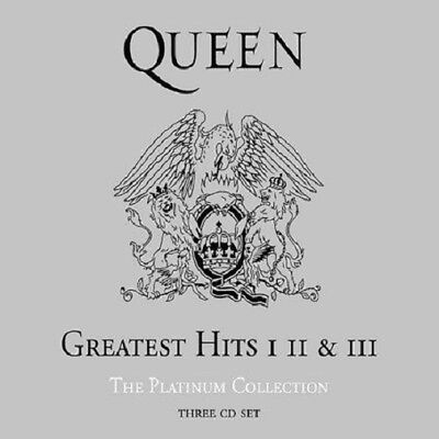 New: Greatest Hits: I II & III: The Platinum Collection by Queen - Free Shipping