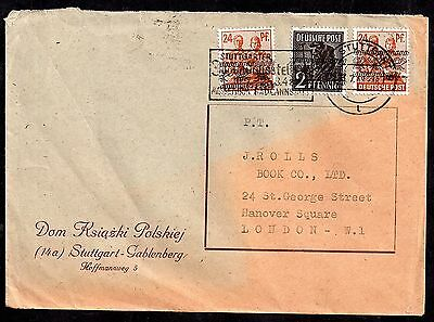Germany Deutsches post commercial postal history cover JB98
