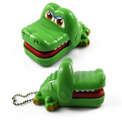 Funny Joke Toy Novetly Crocodile Mouth Dentist Bite Finger Game Gags For Kids
