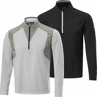 Mizuno Golf Mid Layer ¼ Zip Mens Windproof Performance Golf Cover-Up