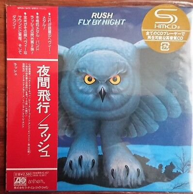 Rush - Fly By Night CD Mini LP WPCR13473 Japan NEW