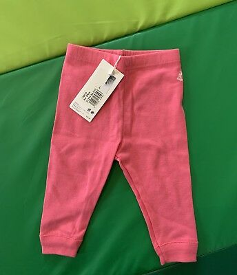 Petit Bateau Brand New with tag 6 Months Pink Legging