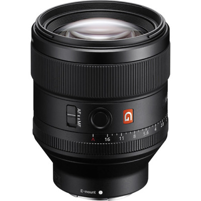 A - Sony Fe 85mm F1.4 GM Cadre Complet E Montage Lentille