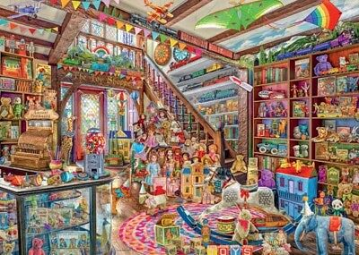 Ravensburger The Fantasy Toy Shop - 1000pc Jigsaw Puzzle