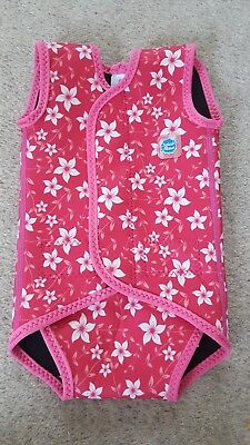 Splash About Baby Wrap | Flower design | Size Small | 0-6 Months