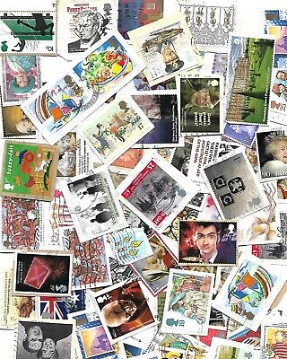 GB stamps 200gms Used commemoratives on paper
