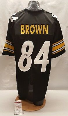 4e9e3bfb9 Antonio Brown Signed Autographed Pittsburgh Steelers Jersey JSA WP743104