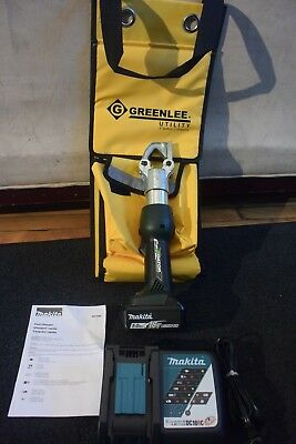 Greenlee Model EKM60ID 18 Volt Dieless Crimper EK622 EK6IDL