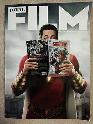 Total Film Magazine 281 January 2019 Subscriber Cover Shazam Armie