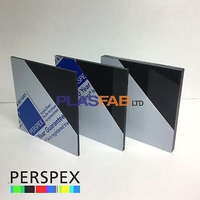Black acrylic sheet perspex 3mm 5mm 10mm plastic cut to size gloss material