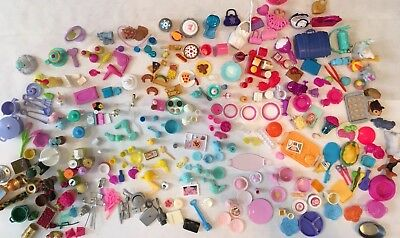 BARBIE ACCESSORIES Food,pets,Cooking,Sports, Etc OVER 325 Pieces! Lot Of Vintage