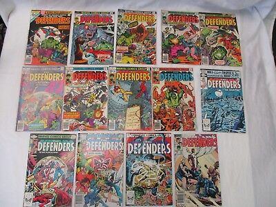 The Defenders Marvel Bronze Age Lot: 1,11,40,45,46,58,61,80,103,106,112,114,124