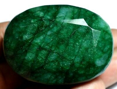 224.25 Ct Natural HUGE Green Zambian Emerald AGSL Certified Museum Use Gem