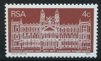 SOUTH AFRICA 1977 Transvaal Supreme Court Centenary. Set of 1. MNH. SG413.