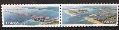 SOUTH AFRICA 1978 Scenic Views Harbours. Set of 2. Mint Never Hinged. SG442/443.