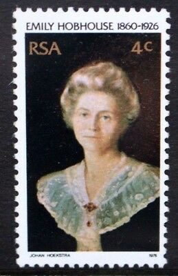 SOUTH AFRICA 1976 Emily Hobhouse 50th Death Anniversary. Set of 1. MNH. SG408.